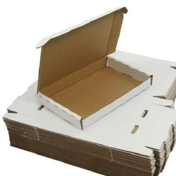 Cardboard Boxes - PIP / Graze Box Packing White Cartons Mailing Post Royal Mail